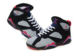 air jordan shoes for girls grey. retro and wholesale air jordan 7 embroided grey black red 52174-505 girl shoes for girls s