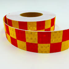 5cm x 10m acrylic adhesive shining reflective warning tape square printing reflective tape for cars safety