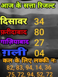 Satta Bajar | Daily lottery numbers, Lottery numbers, Lucky numbers for  lottery