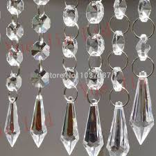 acrylic crystal garland quality crystal garland directly from china wedding party decoration suppliers tree decoration 10 strands diy