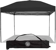 Punchau Pop Up Canopy Tent 10 x 10 Feet, Black ... - Amazon.com