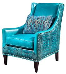 turquoise leather chair 8 marvelous 4 blue 658 x 731 jpg