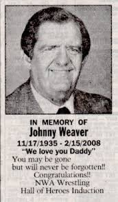 The Johnny Weaver Blog: In Loving Memory - Six Months Later