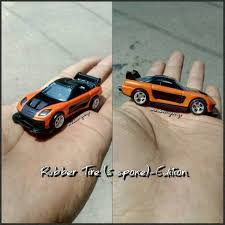 mazda rx7 fast and furious. hotwheels fast furious mazda rx7 han tokyo drift customloose rx7 and g