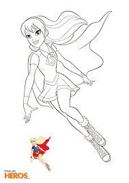Coloriages Dc Super Hero Girls Imprimer Gratuitement