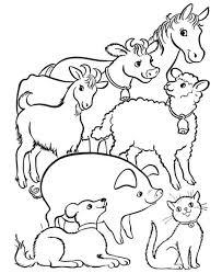 Disegno Fattoria Degli Animali Da Coloraredisegno Tutti Animali