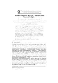 Gilbert Cell Design Pdf Design Of Gilbert Cell In Cmos Technology Pulse