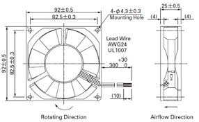 how to measure fan size cooling how do i measure the size of an unknown computer fan