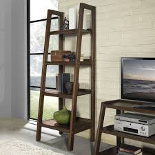 Leaning Ladder Bookcases On Hayneedle Leaning And Ladder Bookshelves Ladder  Style Bookcase Ladder Style Bookcase