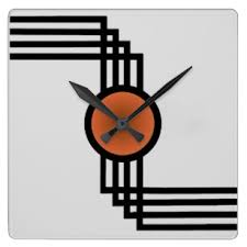 fantastical art deco wall clock home design ideas clocks zazzle reproductions hammond 1930 large junghans reproduction on art deco wall clock reproduction with nice ideas art deco wall clock ishlepark