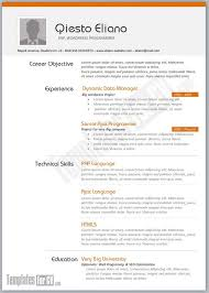 Html5 Resume Sample