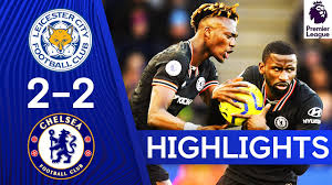 Leicester 2-2 Chelsea | Rüdiger Strikes Twice In See-Saw Game! | Premier  League Highlights - YouTube