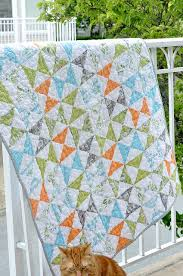 168 best Backyard Baby Fabric Collection images on Pinterest ... & super cute baby quilt by Chrissy on snappy stitches Backyard Baby Adamdwight.com