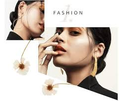 bohopan fashion simple earrings for women multi layer female hoop hot sales creative gold silver jewelry