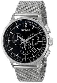 amazon com movado men s 0606803 movado circa stainless steel amazon com movado men s 0606803 movado circa stainless steel watch mesh band watches
