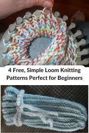 Loom Knitting Patterns For Beginners Custom 48 Free Simple Loom Knitting Patterns Perfect For Beginners