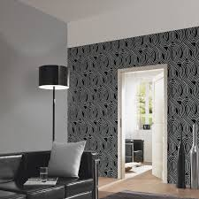 Wallpaper Living Room Feature Wall Black Glitter Wallpaper Living Room Yes Yes Go