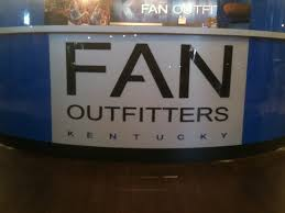 fan outfitters lexington ky. identification signs for lexington, ky-based fan outfitters. our span from palomar centre here in lexington to their oklahoma city, ok market. outfitters ky n