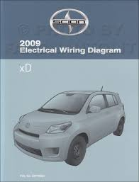 2009 scion xd wiring diagram manual original 2009scionxdowd jpg