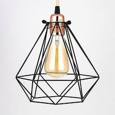 edison pendant light geometric diamond vintage light bulb cage for pendant lights edison pendant light fitting