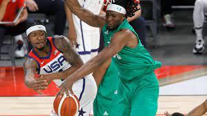 Kevin Durant in USA vs. Nigeria ...