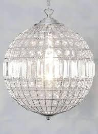 chandeliers indoor chrome crystal ball 3 light chandelier crystal ball chandelier australia large crystal ball