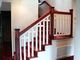 wood stairs railings pictures post outdoor wooden stair railing ideas designs flight f