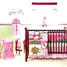 levtex crib bedding owl baby bedding set for girl designs crib night 5 piece levtex baby