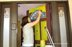 front door paintFront Door Paint Colors and How to Paint an Exterior Door