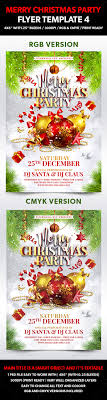 Work Christmas Party Flyers Merry Christmas Party Flyer Template 4 Flyers Psy Chic Website Tools
