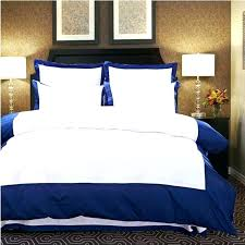 pure color home textile 4pcs embroidered hotel bedding set white blue duvet cover bedclothes bed sheet