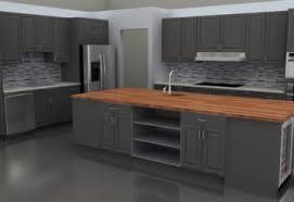kitchen backsplash light cherry cabinets. Blue Grey Kitchen Backsplash Light Cherry Cabinets