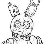 Five Nights At Freddys Fnaf Coloring Pages Coloring Pages For Kids
