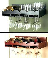 wooden wine racks wall mounted wall mounted wine and glass rack wall mount wine glass rack
