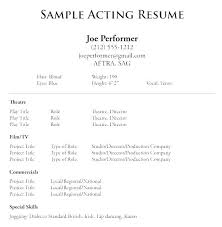 Simple Resume Sample Format Simple Sample Resume Examples Standard ...