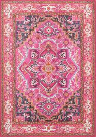 nuloom 2 6 x8 machine made cor rug violet pink traditional area rugs by nuloom
