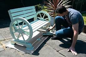 shabby chic patio furniture. Shabby Chic Porch Furniture Garden Paint For A Bench Chair . Patio