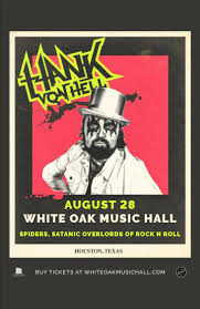 Buy Tickets to <b>Hank Von Hell</b>, SPIDERS, Satanic Overlords Of Rock ...