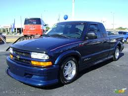 2001 Indigo Blue Metallic Chevrolet S10 Extended Cab Xtreme ...