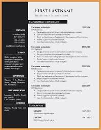 Smart Resume Custom Smart Resume Photo Die Erstaunliche 60 Lebenslauf In Word Best