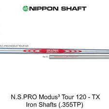 Details About Nippon Ns Pro Modus 3 Tour 120 Tx Flex Steel Iron Shafts 355tp Uncut