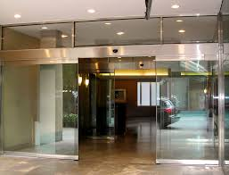 e stanley dura glide all glass automatic sliding door stainless steel web jpg stanley access