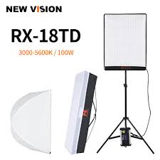 100w Led Video Light Us 364 0 20 Off Falcon Eyes 100w Led Photo Video Light Portable Led Photo Light 504pcs Flexible Led Light Rx 18td With Diffuser Light Stand In