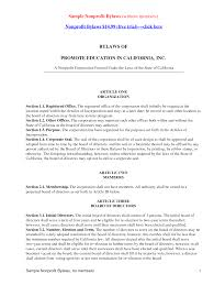 Has No Objection Corporate Bylaws Template Has No Objection Sample Legal Contract 47
