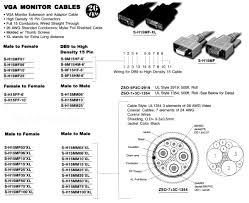 pan pacific enterprise miscellaneous cables connectors vga monitor cables