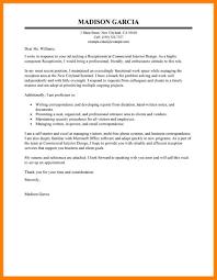 7 Cover Letter For Receptionist Job Apply Letter