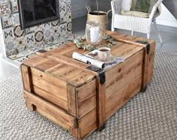 See more ideas about steamer trunk coffee table, decor, diy furniture. Trunk Coffee Table Etsy