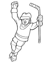 Small Picture Hockey Coloring Pages To And Print For adult