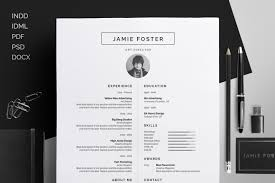 Free Resume Templates Design Best Graphic Designer Cv Examples