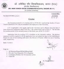 Dr. Harisingh Gour University, Sagar University ||Format Of ...